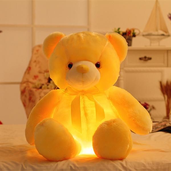 Best Gift Light Up LED Teddy Bear for Kids & Adults