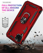 2020 ALL New Luxury Armor Shockproof With Ring Kickstand