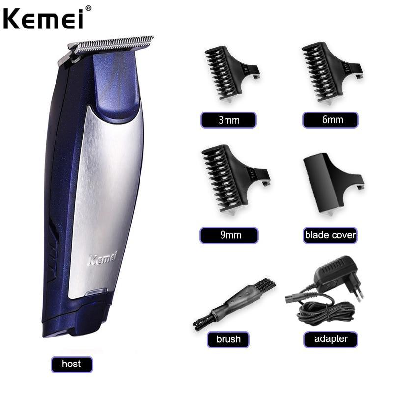 KEMEI 3 In 1 Professional Rechargeable Hair Trimmers