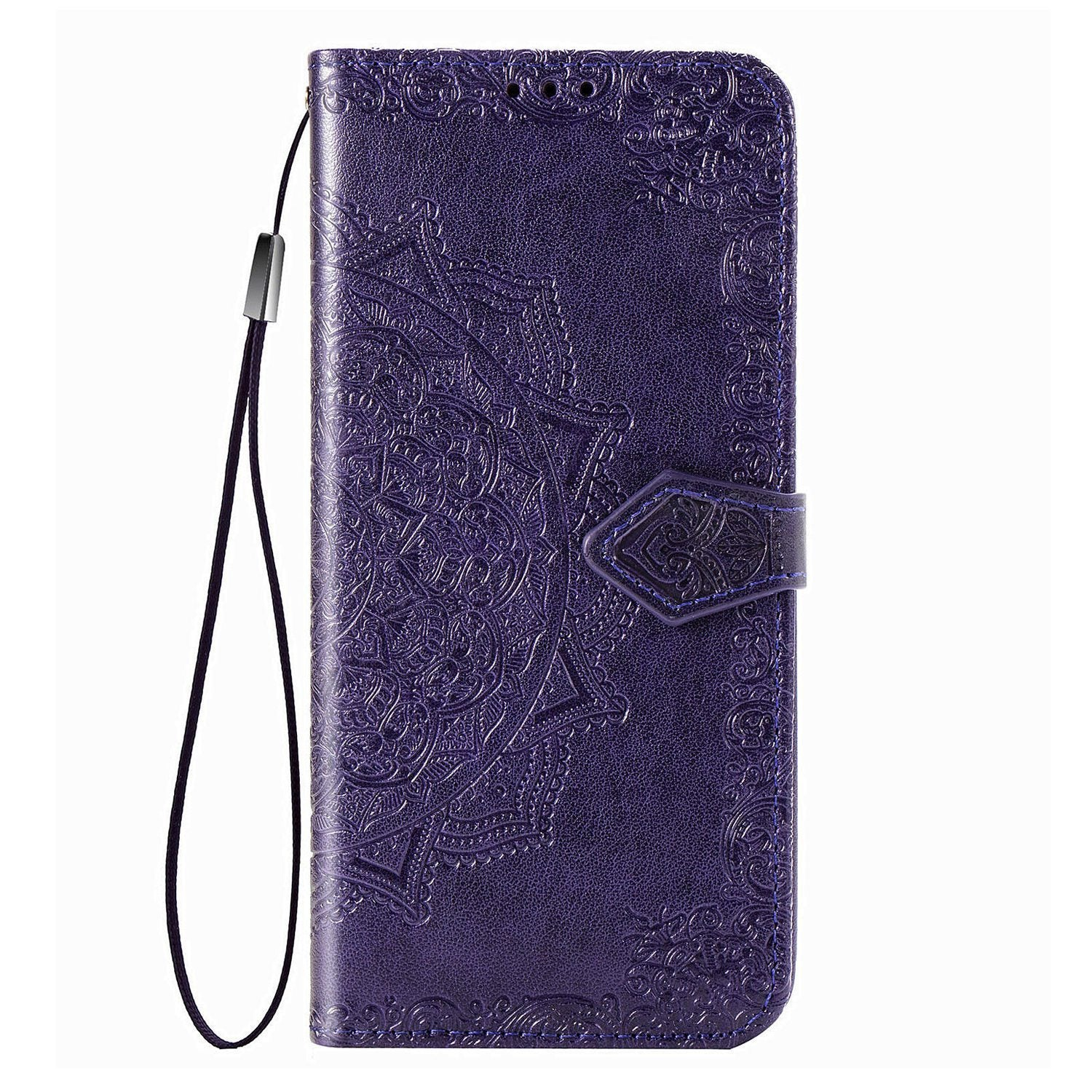Luxury Embossed Mandala Leather Wallet Flip Case for Samsung Note20 Ultra
