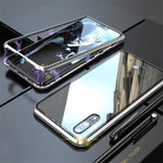 Magnetic Adsorption Metal Phone Case For Huawei P20 / P20 Pro