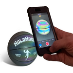 HoloHoops Holographic Glowing Reflective Basketball - HoloGear