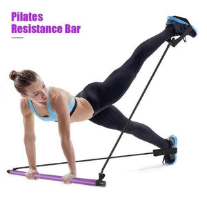 Pilates Exercise Bar Stick with DVD Workout