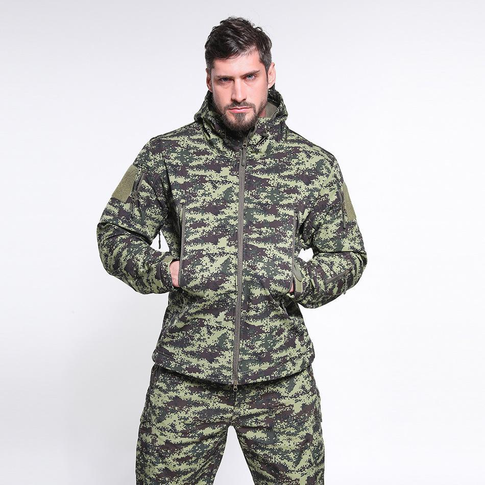 Winter outdoor Waterproof Military Tactical Jacket