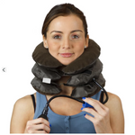 Air Cervical Soft Neck Brace Device - Headache, Back , Shoulder & Neck Pain Relief