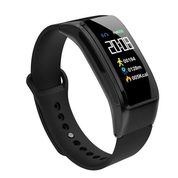 Smart Watch Bracelet with Bluetooth Headset For iOS Android Phone