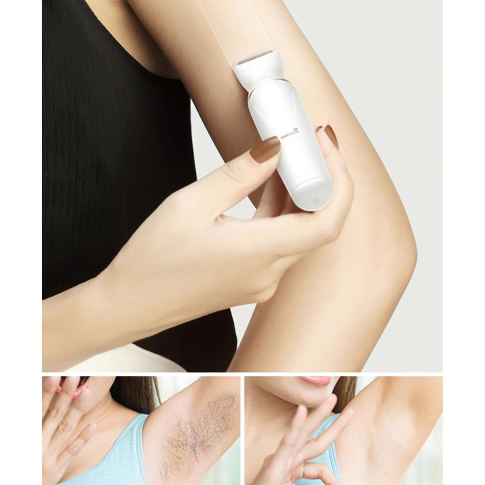 Wellskins Eyebrow Body Electric Trimmer Shaver Xiaomi Female Epilator Machine