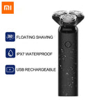 Xiaomi Mijia Electric Shaver 3D Razor For Men Shaver Rechargeable for Beard Machine
