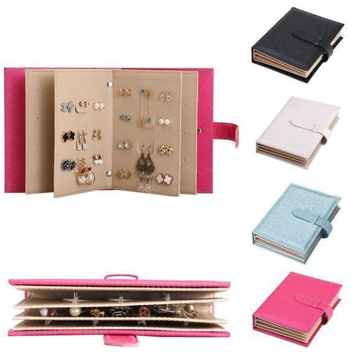 New Women Earring Organizer Unique Book