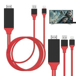 Lightning USB 2.0 to HDMI HDTV AV Adapter Cable -iPhone
