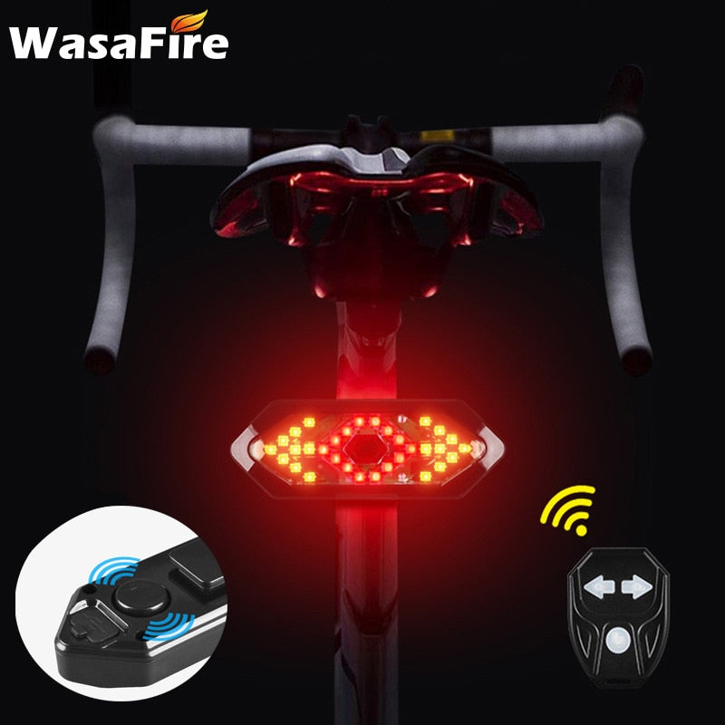 LED Bike Turn Signals With Remote Control