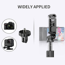 Load image into Gallery viewer, 4 In1 Bluetooth Wireless Selfie Stick Tripod Foldable & Monopods Universal for Smartphones for Gopro and Sports Action Cameras