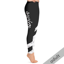 Load image into Gallery viewer, Fashionista Swim Leggings Adult