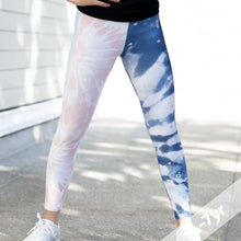 Load image into Gallery viewer, Tie dye Leggings 4-7yo