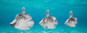 Fish and Ocean Sterling Silver Charmarama Charms