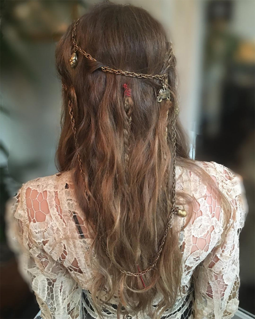 Charms worn in hair