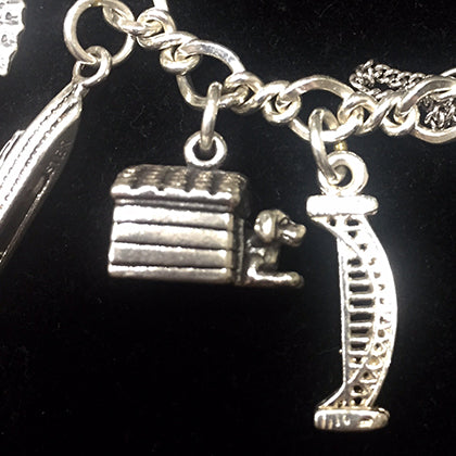 Sterling silver Australia and travel charm bracelet #mycharmbracelet