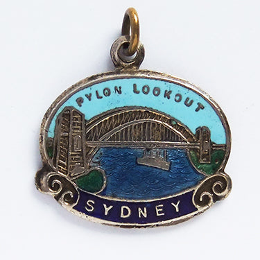 Vintage Sydney Harbour Bridge Charm