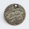 Maria Love Token Coin Charm