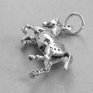 Appaloosa Horse Charm in Sterling Silver