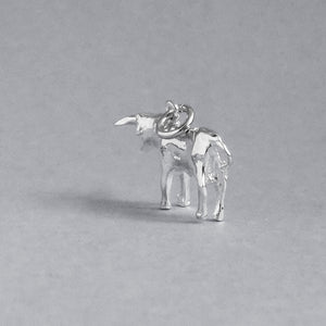 Taurus the Bull Charm Sterling Silver