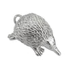 Echidna charm sterling silver or gold Australia pendant