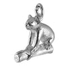 Koala on Branch Sterling Silver Charm Pendant