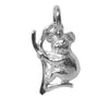 Small koala charm sterling silver or gold pendant