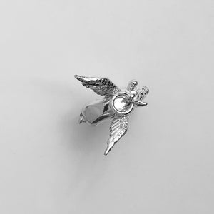 Pig with Wings Charm Sterling Silver or Gold | Charmarama