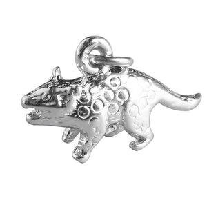 Quoll Charm Sterling Silver Australian Animal Pendant