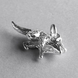 Quoll Charm Sterling Silver Underneath