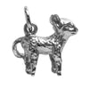 Lamb Charm Sterling Silver or Gold Sheep Pendant | Silver Star Charms