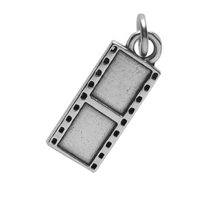 Sterling Silver Camera Film Strip Charm