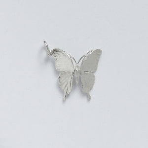 Ulysses Butterfly Charm Sterling Silver Pendant Back