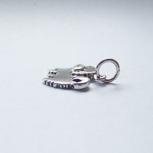 Maltese Terrier Dog Charm Sterling Silver Animal Pendant Hallmark