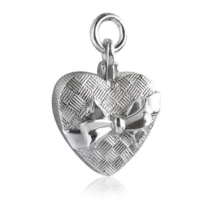 Chocolate Box Charm Sterling Silver or Gold Pendant