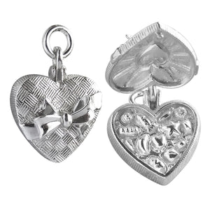 Box of Chocolates Charm Sterling Silver or Gold Pendant