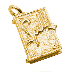 Gold Book of Spells Charm
