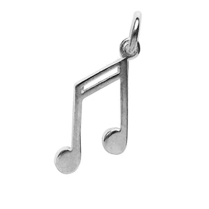 Sterling Silver Eighth Music Note Charm