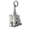 Church Wedding Charm Sterling Silver Pendant