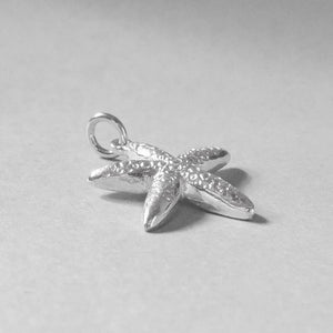 Sterling Silver Starfish Charm Sea Star Pendant