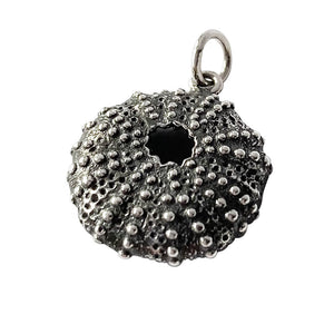 Sea Urchin Charm Sterling silver