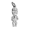 Tiko New Zealand Tiki Charm Sterling Silver NZ Pendant