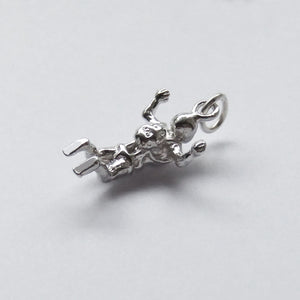 Sterling Silver Skydiver Pendant