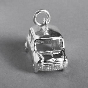 Austin Rover Mini Minor Car Charm Sterling Silver