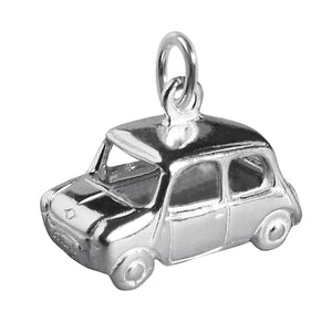 Sterling Silver Mini Minor Car Charm
