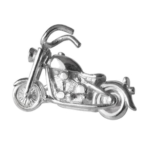 Motorcycle Charm Sterling Silver Pendant