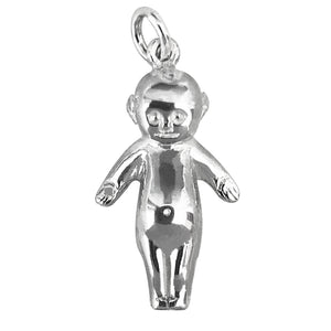Kewpie Doll Charm Sterling Silver Toy Pendant