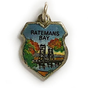 Batemans Bay Travel Shield Souvenir Charm