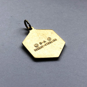 David Andersen Enamel Cancer Zodiac Pendant